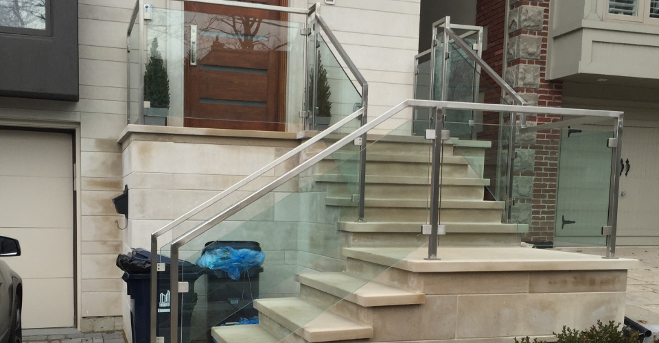 exterior stair